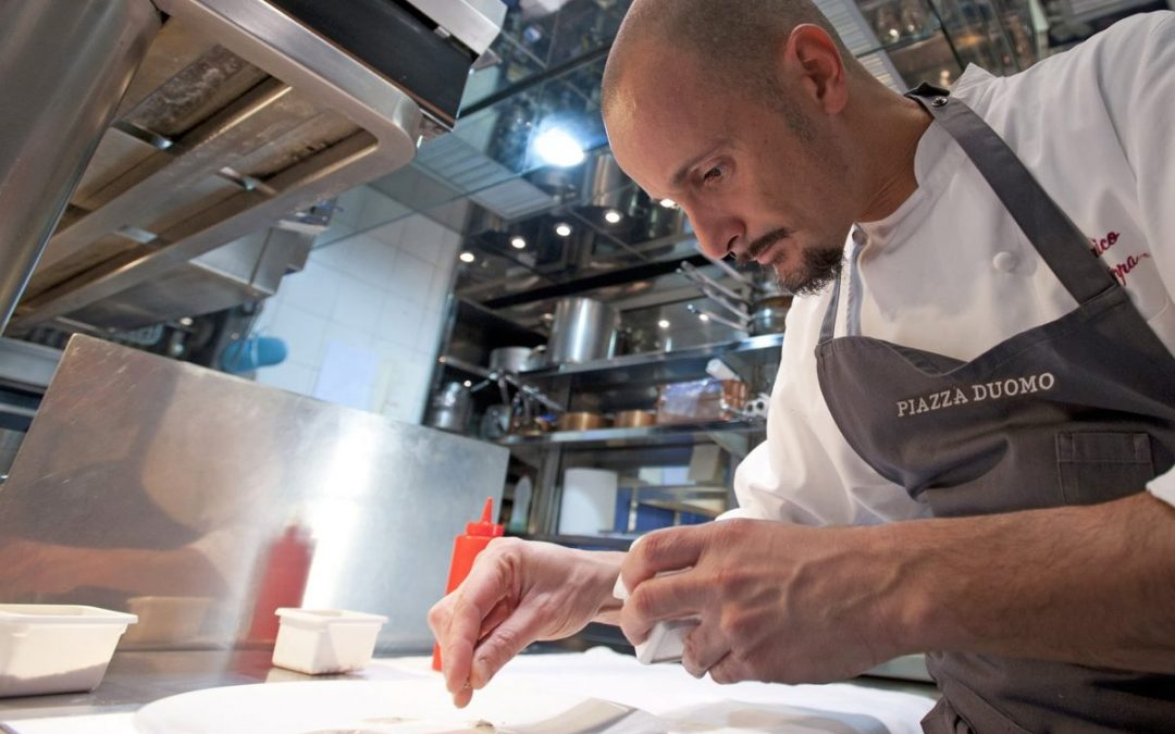 The World's 50 Best Restaurant | N°15 Piazza Duomo, Enrico Crippa