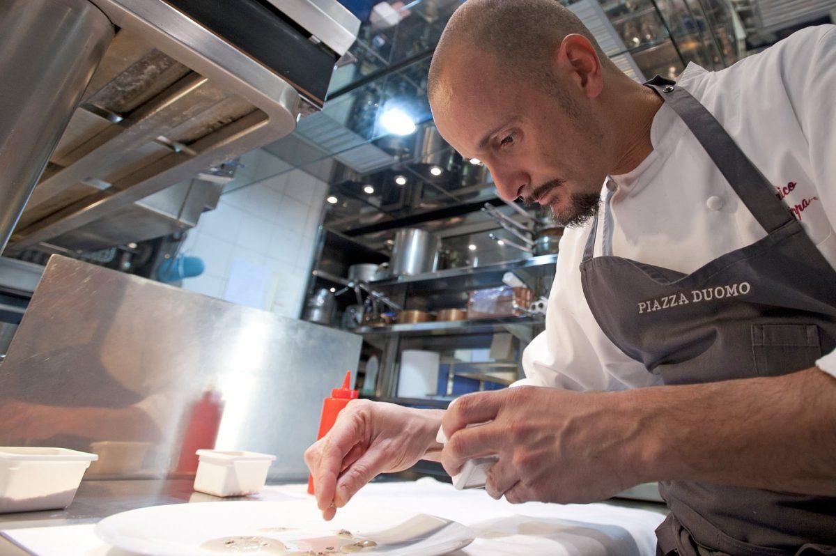 The World's 50 Best Restaurant   N°15 Piazza Duomo, Enrico Crippa