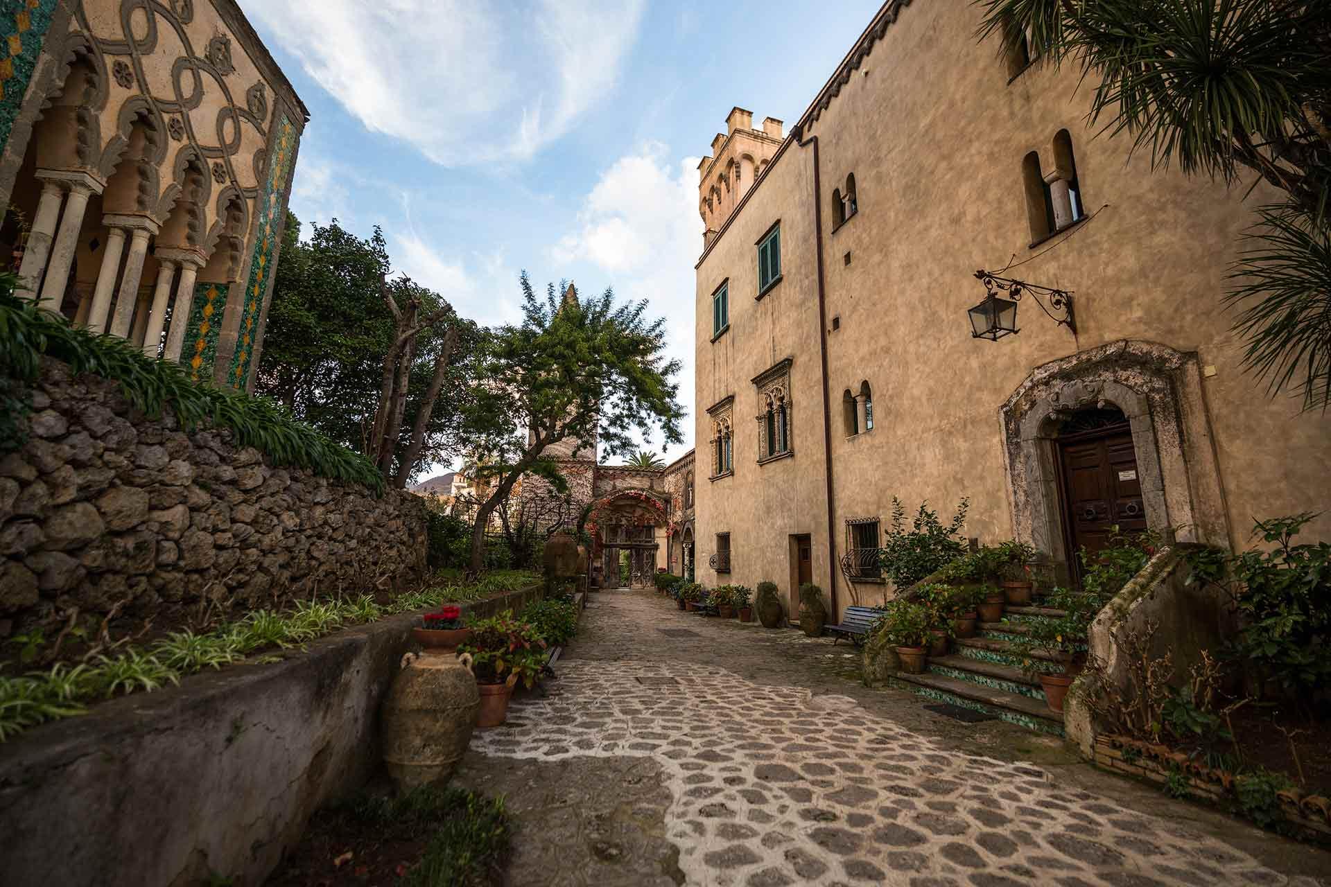Edifici di Villa Cimbrone