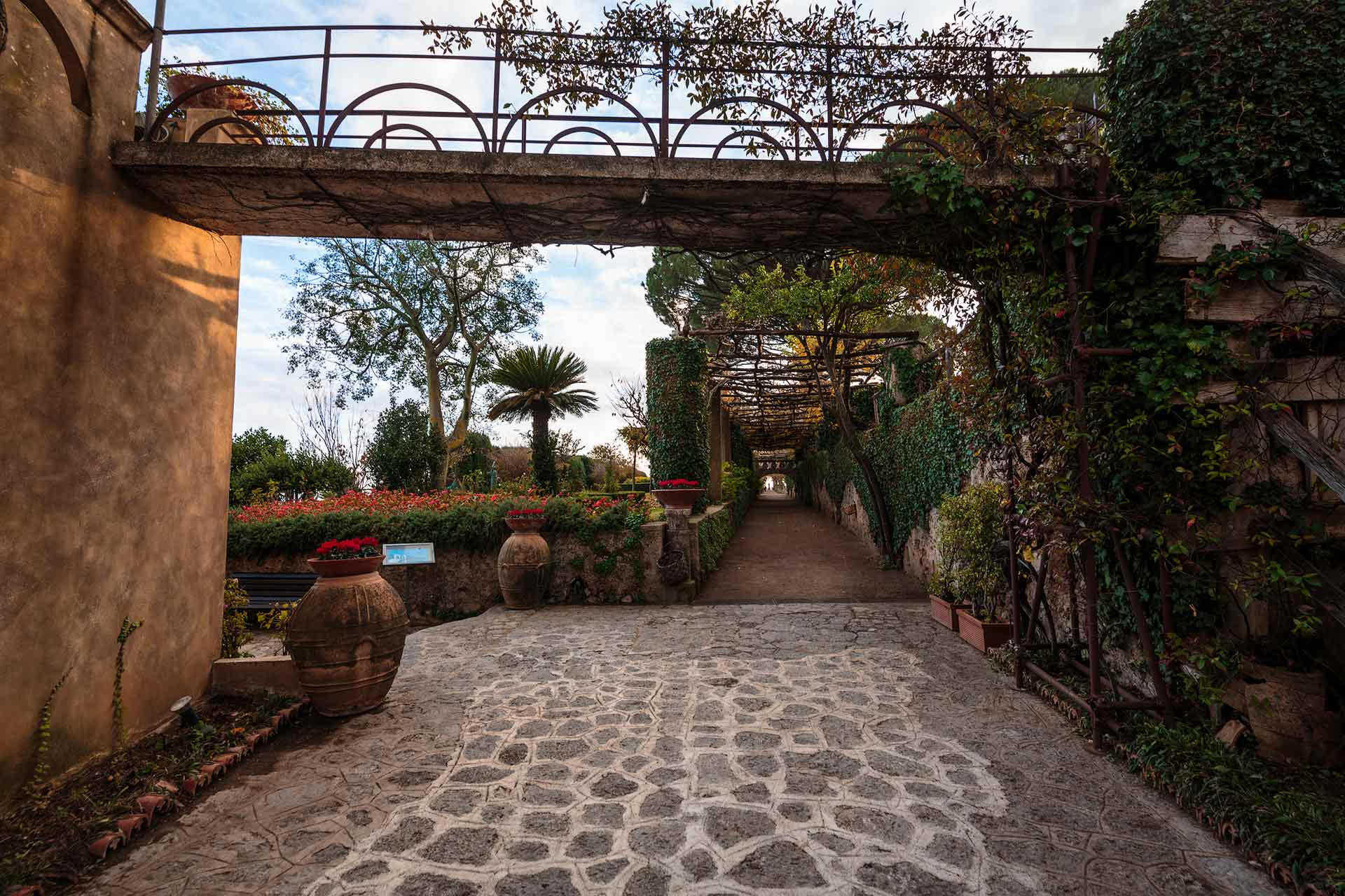 Sentiero principale di Villa Cimbrone