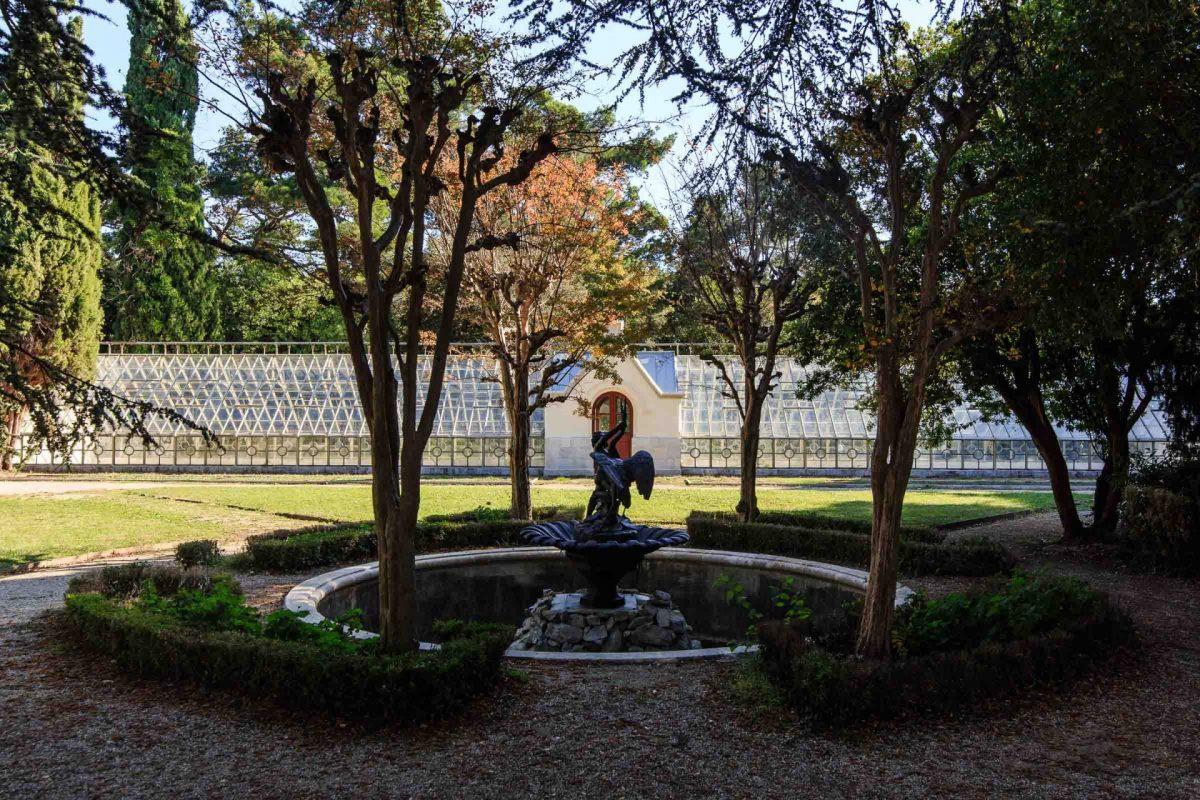 Serra nel giardino di Miramare